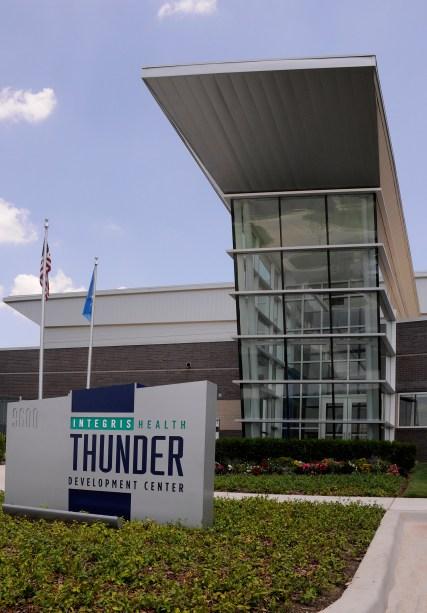 OKC Thunder Practice Facility