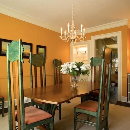 Kirsten Floyd Interior Design Dining Room