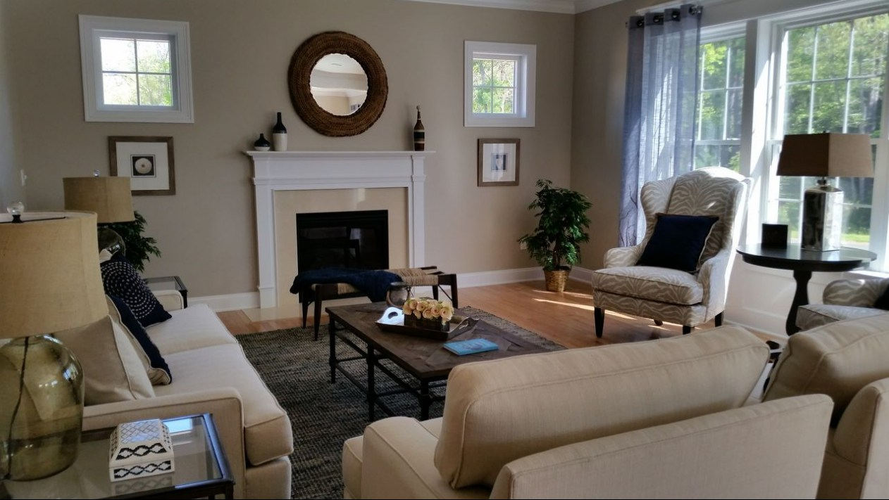 Simsbury Home Living Room 1