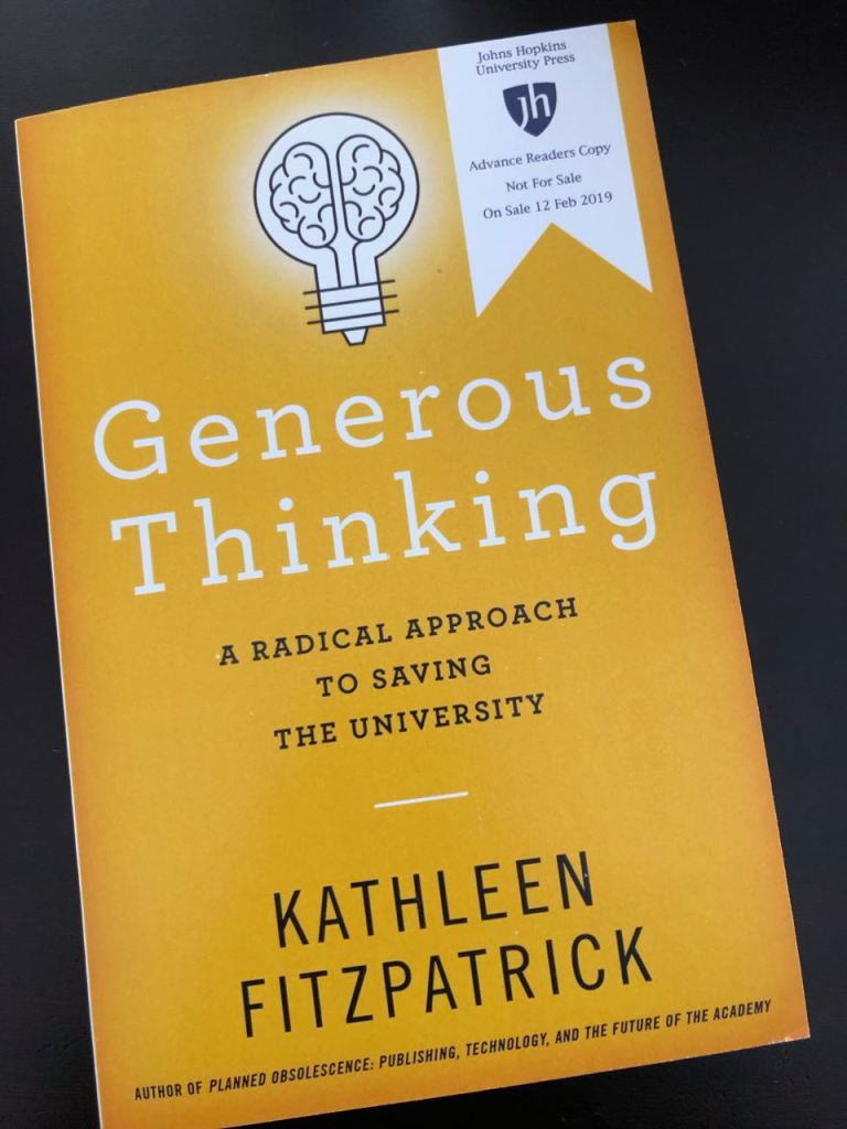 ARC of Generous Thinking