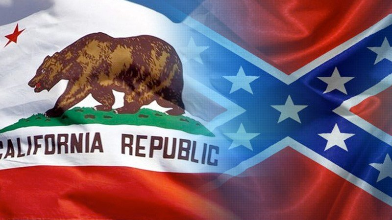 State California Confederate Flag Ban Excludes