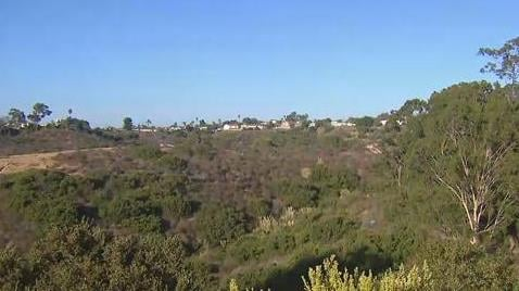 Crews knock down brush fire sparked in Linda Vista Canyon ...