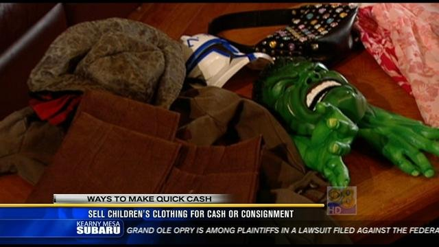 Ways To Make Quick Cash Sell Childrens Clothing The Easy
