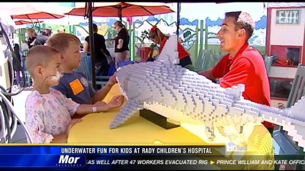 Underwater fun for kids at Rady Children's Hospital - CBS ...