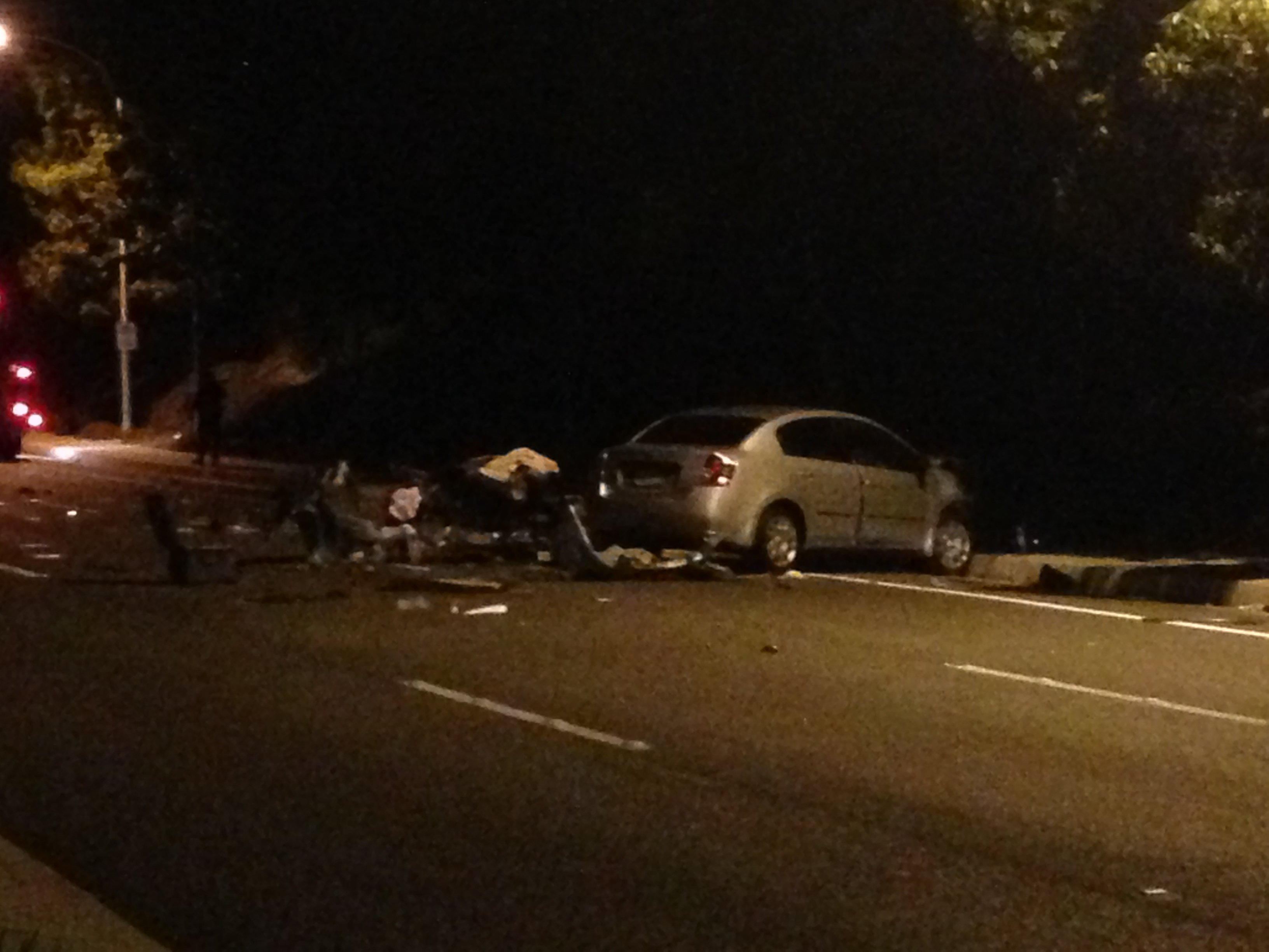 Image result for car accident night