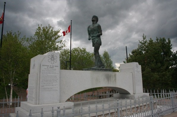 Terry Fox Memorial, Thunder Bay, ON