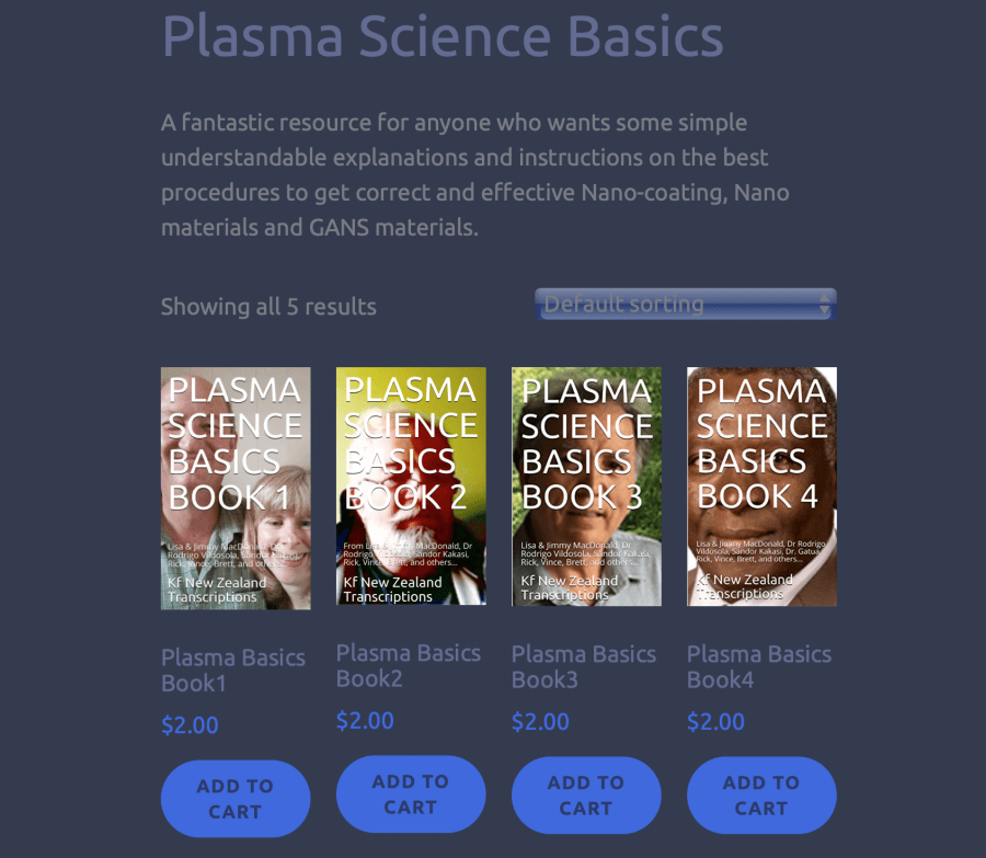 plasma basics books