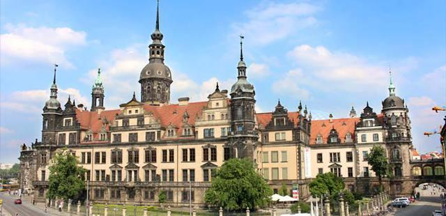 Dresden Castle in Dresden