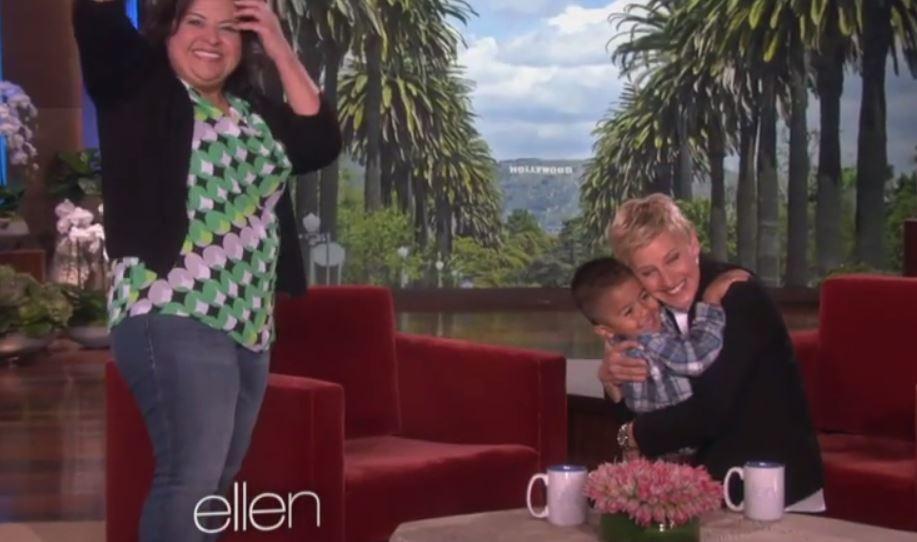 Photo: Ellen via YouTube