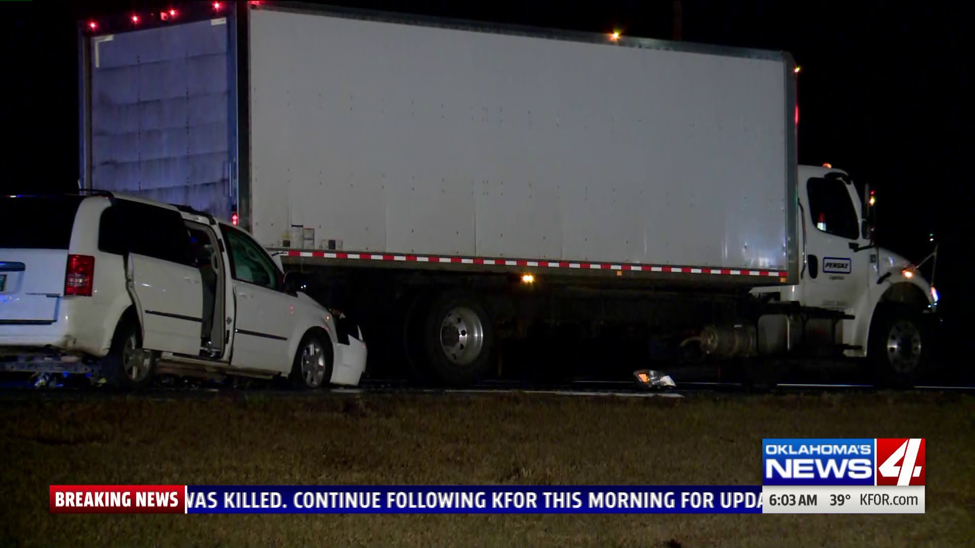Deadly accident at Northwest Expressway