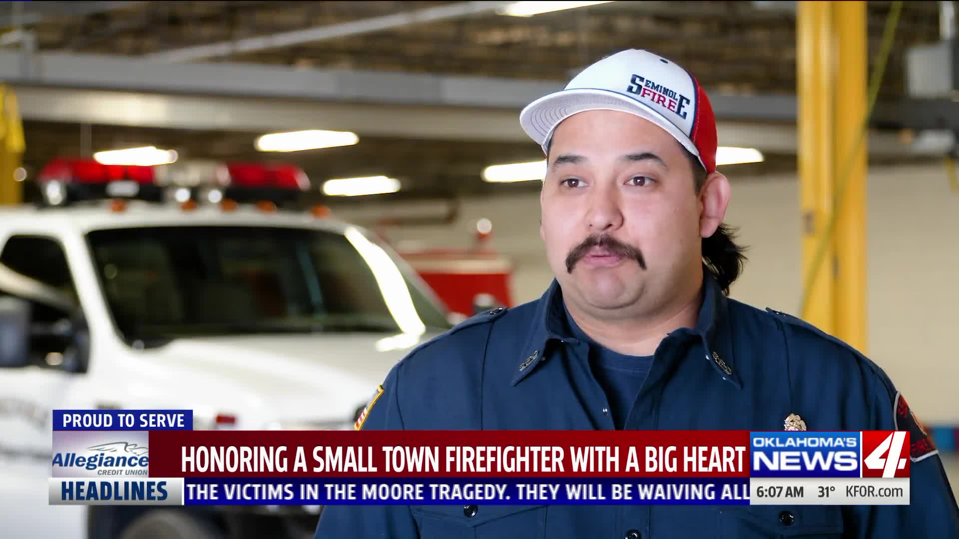 Seminole firefighter is Proud to Serve