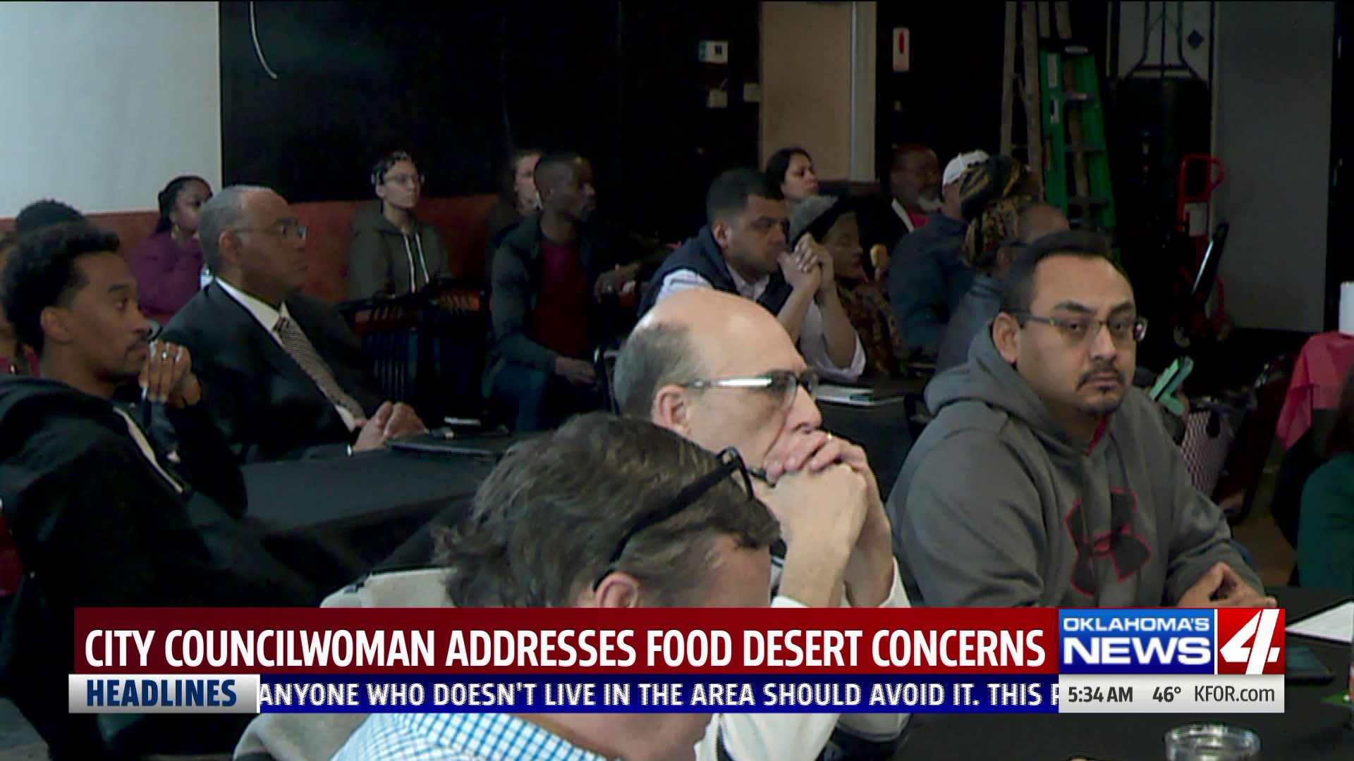 Residents attend meeting about food desert