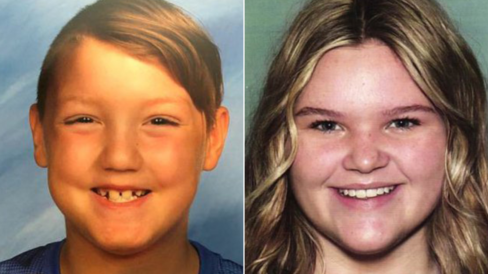 Joshua Vallow, 7, and his sister Tylee Ryan, 17