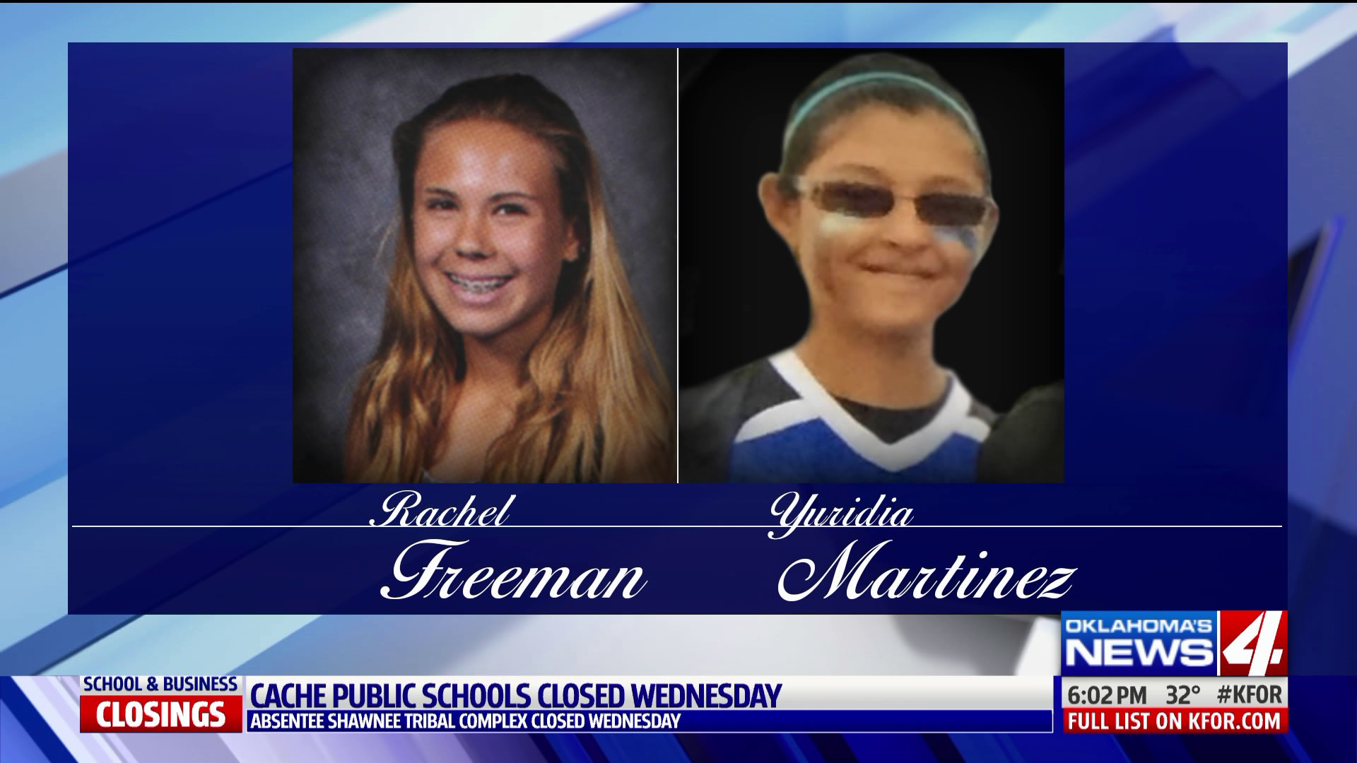 Moore High School students Rachel Freeman and Yuridia Martinez are mourned by their school and community after they died from injuries they suffered in a hit and run.