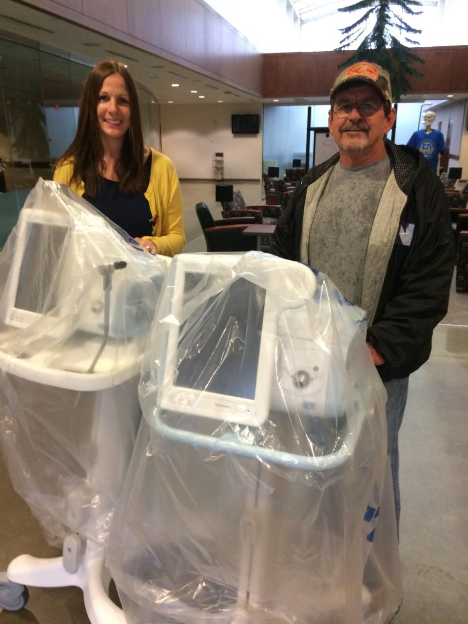 Rose State loaning ventilators