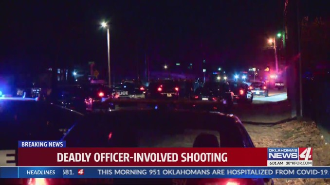 Oklahoma City police release names, further details in deadly officer-involved shooting update