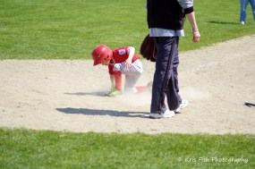 Jake's first run scored