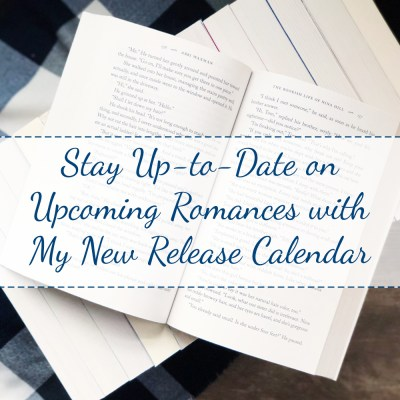 New Feature: Upcoming Release Calendar
