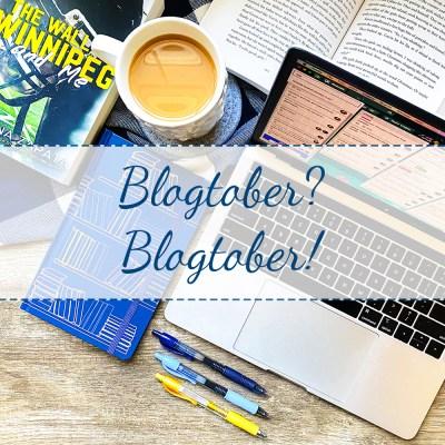 Blogtober? Blogtober!