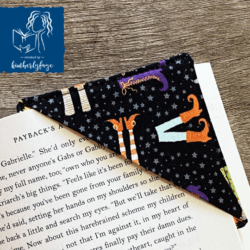 Witchy Feet Bookmark