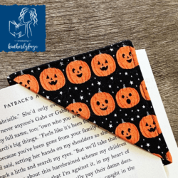 Mini Jack o' Lantern Bookmark