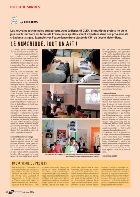 Tremblay Magazine n°160 (p. 32), June 2014, France.