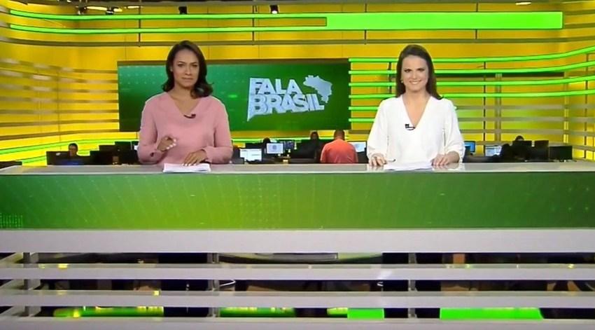 """Video: """"Fala Brasil"""" estreia novo cenário"""