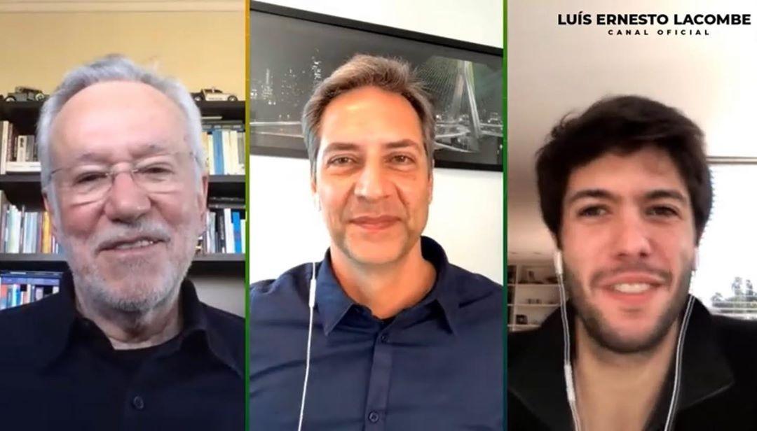 Lacombe estreia no Youtube com Caio Coppolla e Alexandre Garcia convidados