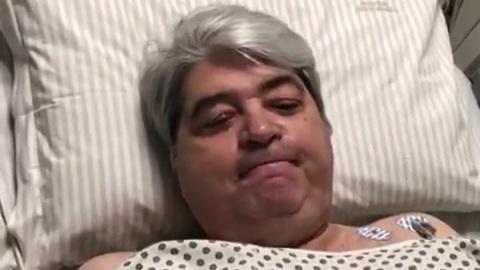Datena passa por cirurgia em hospital de SP após sentir dores no peito