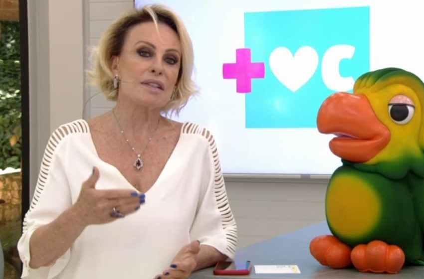 Ana Maria Braga apresenta 'Mais Você', ao vivo, em homenagem a Tom Veiga, nesta segunda