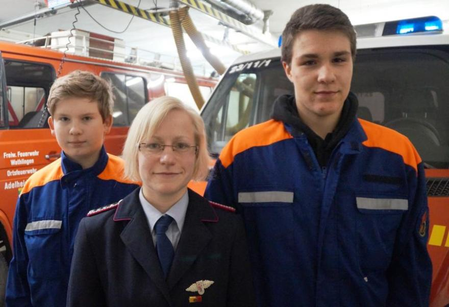 Jahreshauptversammlung der Jugendfeuerwehr Adelheidsdorf-Großmoor - Niklas Großmann zum Jugendsprecher wiedergewählt