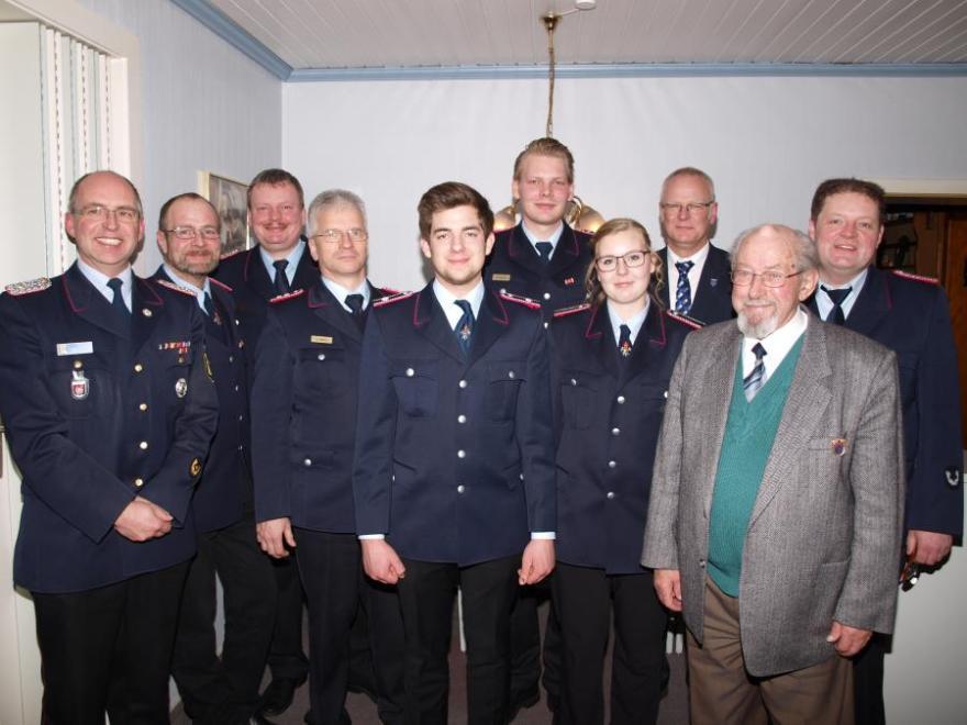 Jahreshauptversammlung der Feuerwehr Gockenholz