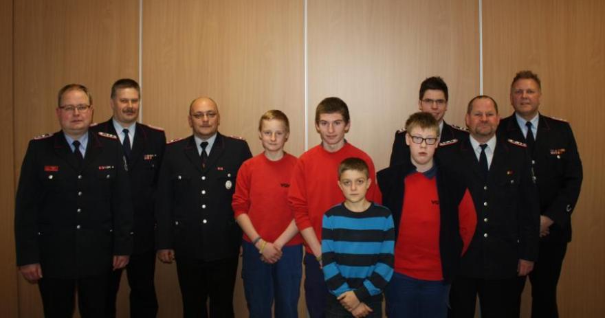 41. Jahreshauptversammlung der Jugendfeuerwehr Bergen