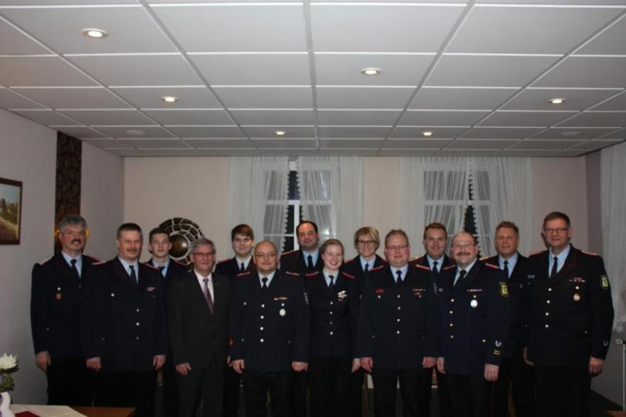 134. Jahreshauptversammlung der Ortsfeuerwehr Bergen