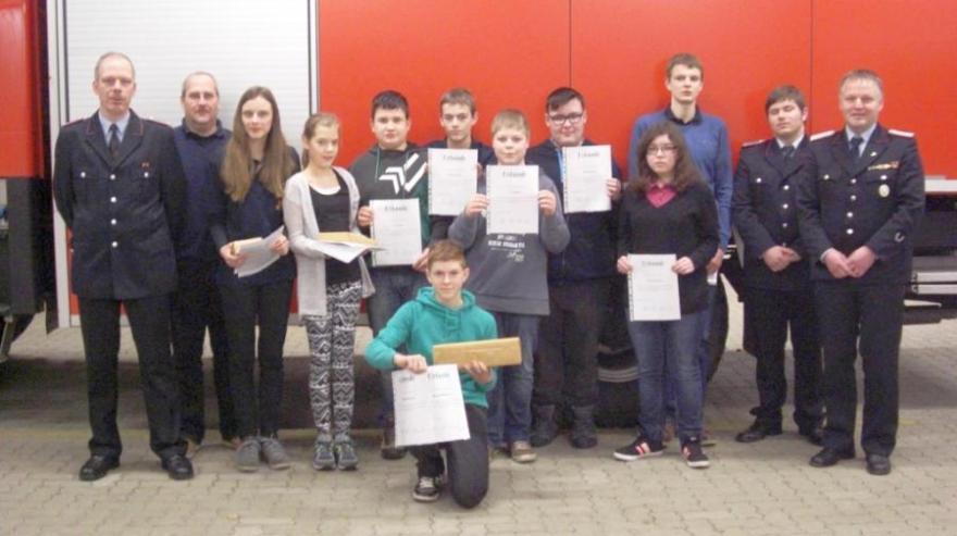 Jahreshauptversammlung der Jugendfeuerwehr Eicklingen