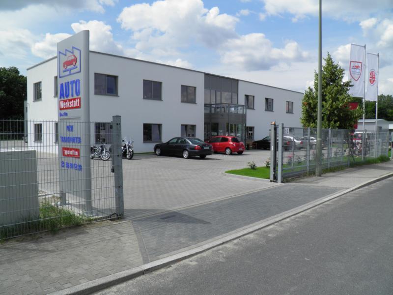 Anfahrt zur Werkstatt für Autos und Transporter