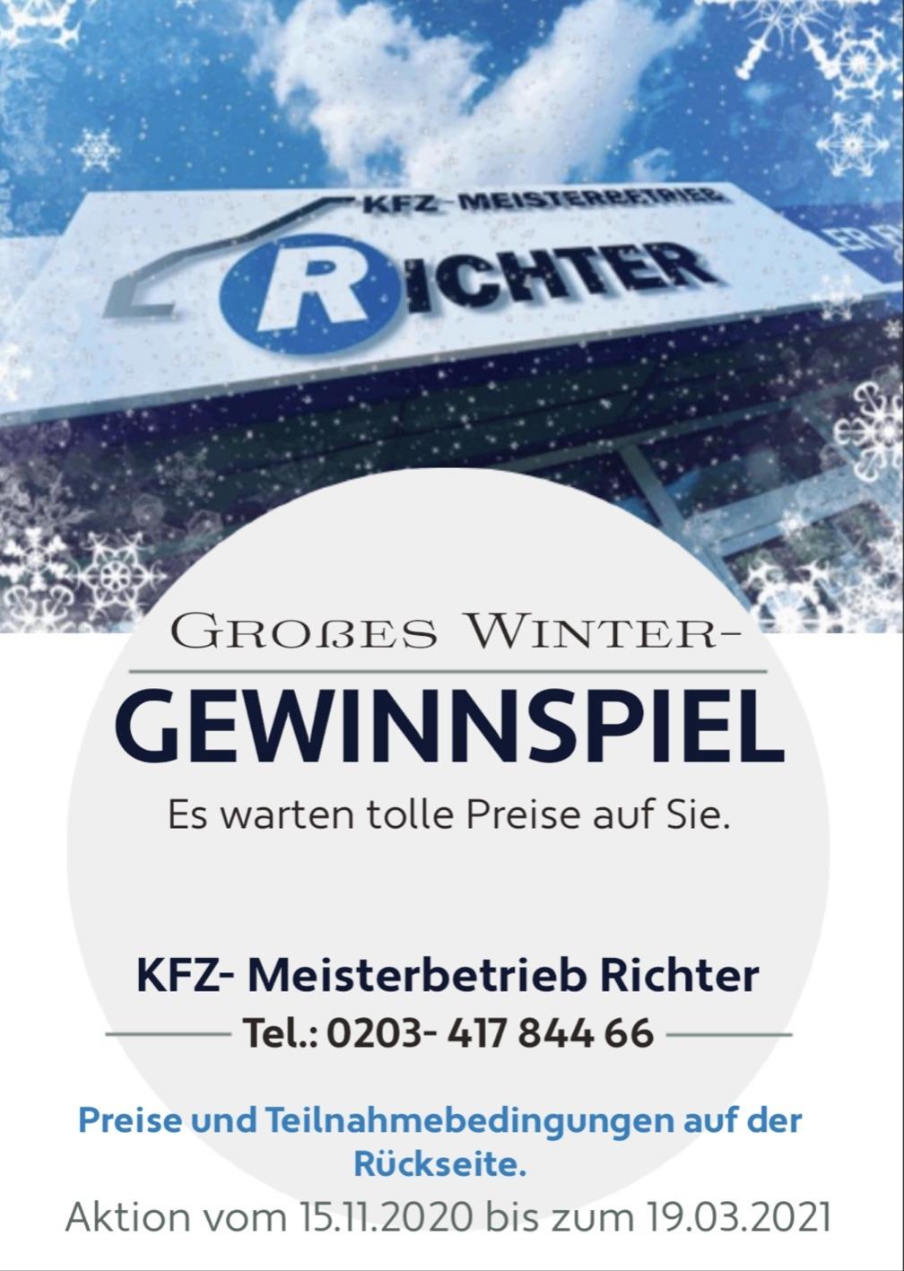 Winter-Gewinnspiel