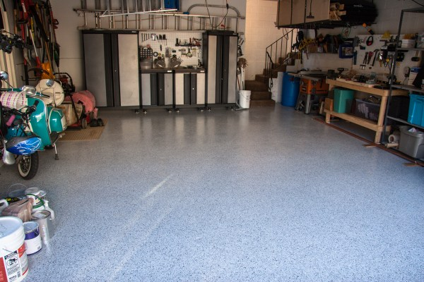 Cottonwood Heights Utah Garage Epoxy Floor Coating - Full View 02