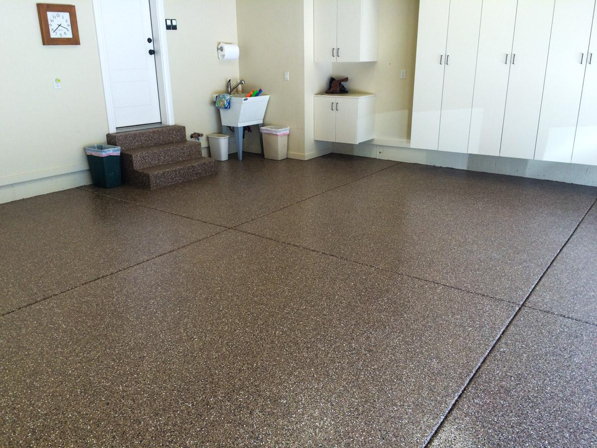 epoxy-garage-floor-dark-brown-amarello