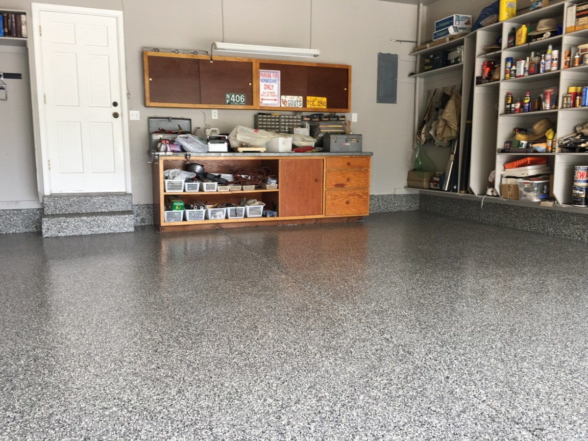 Epoxy Floor full broadcast