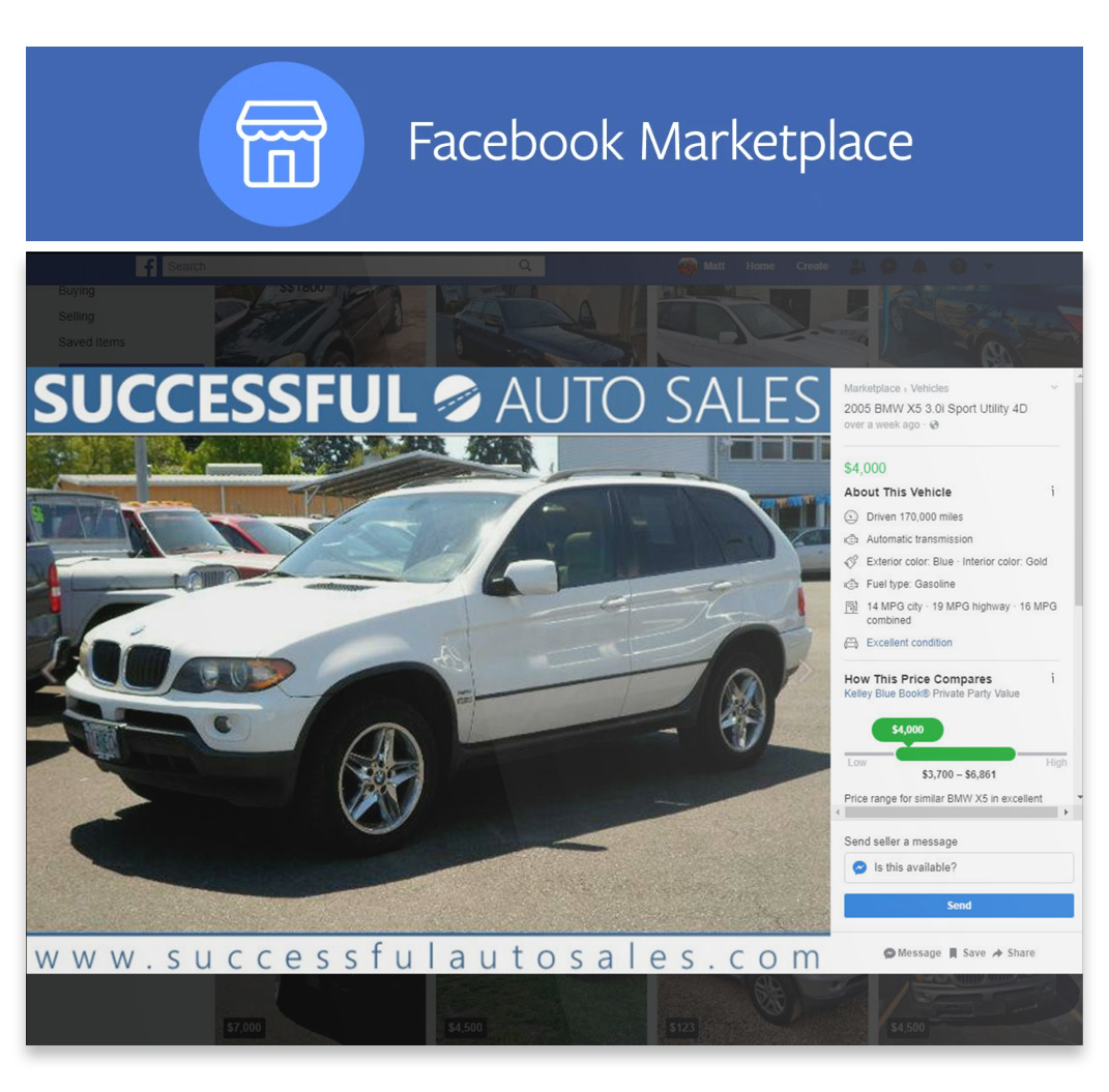 Facebook Marketplace for Car Dealers