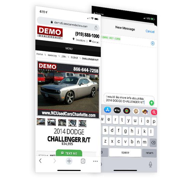 Website-Texting