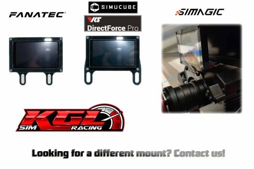 KGL Sim Racing dashboard