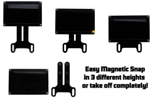 KGL-DDU4-M magnetisch dashboard
