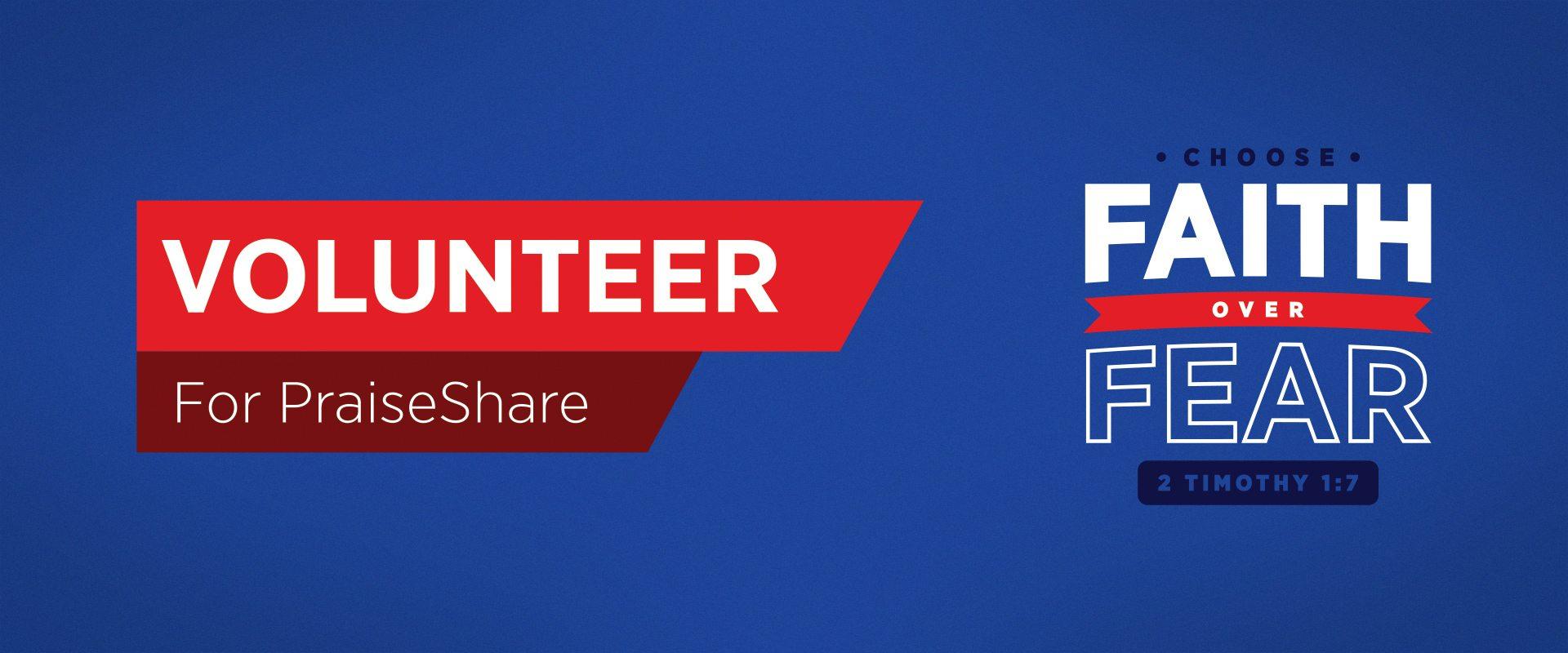2016 Volunteer for PraiseShare Fall