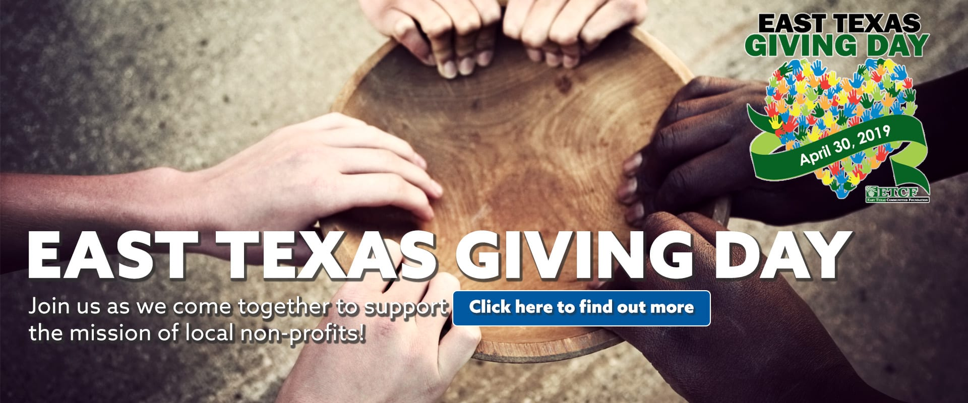 2019 East Texas Giving Day KGLY