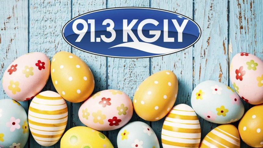 Easter Eggs KGLY Logo