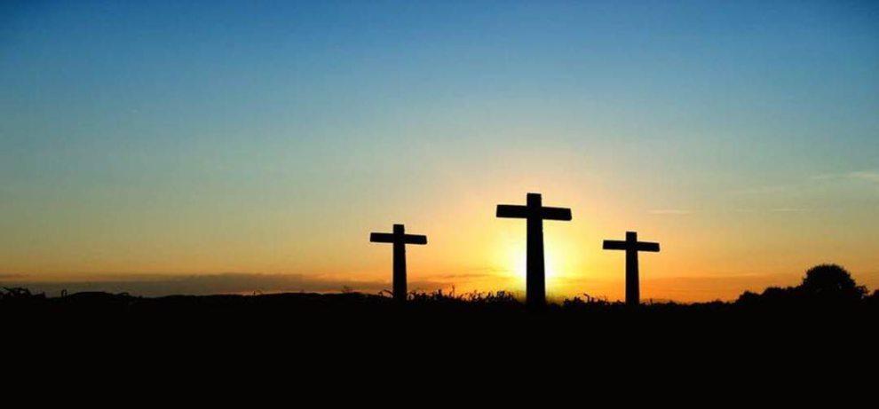 91.3 KGLY East Texas Christian Radio Easter Three Crosses
