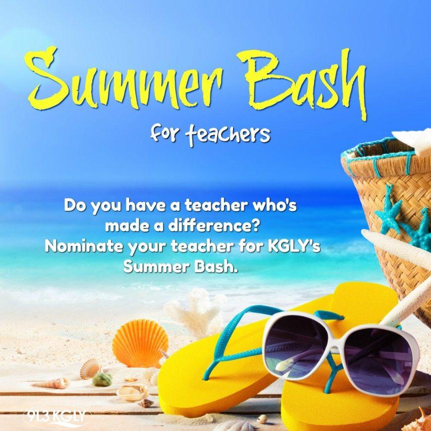 91.3 KGLY 2018 Summer Bash for Teachers