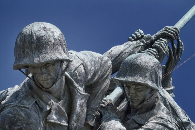 130607_IwoJima_Heads by Karl G. Graf.